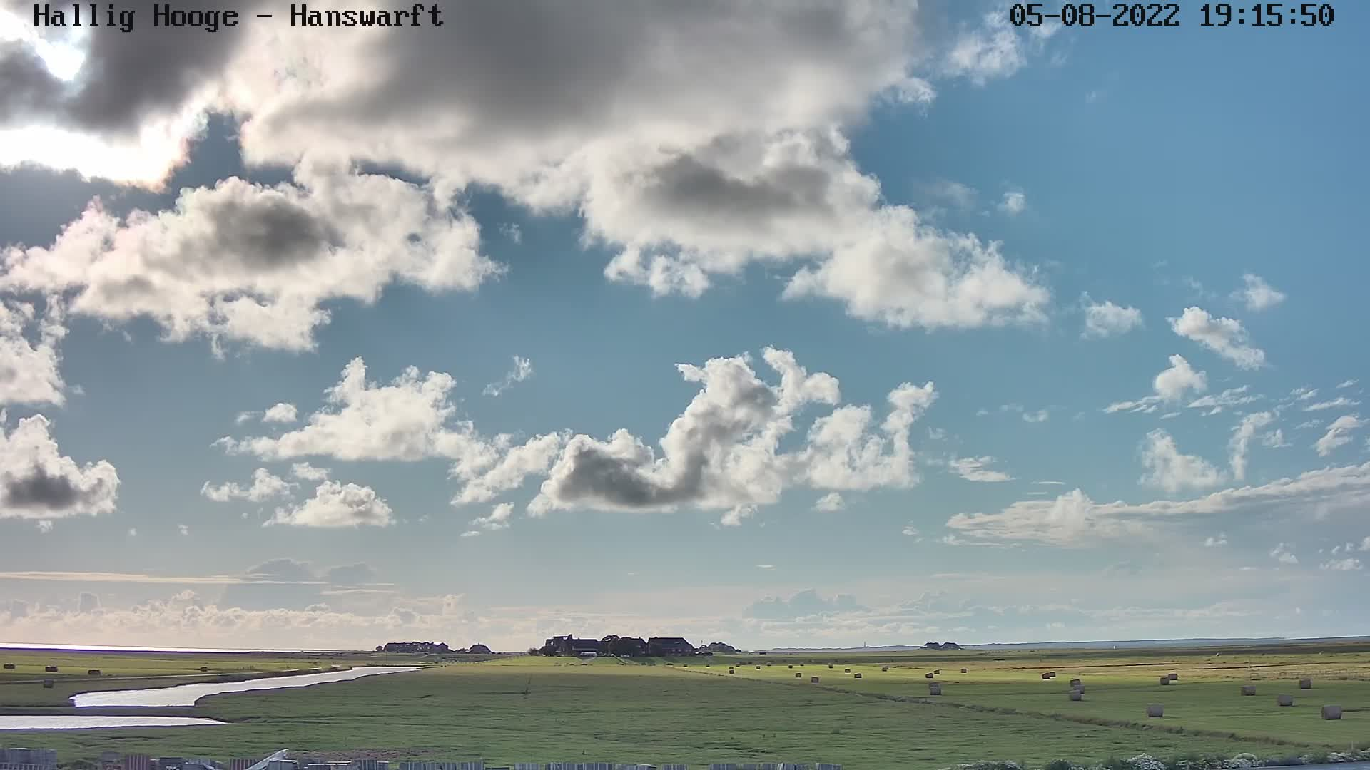 Webcam der Hallig Hooge